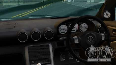 Nissan Silva S15 Turkish Drift para GTA San Andreas traseira esquerda vista