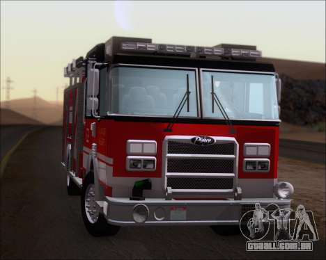 Pierce Arrow XT TFD Engine 2 para GTA San Andreas vista traseira
