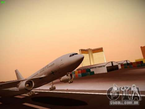 Airbus A310 MRTT Luftwaffe (German Air Force) para GTA San Andreas