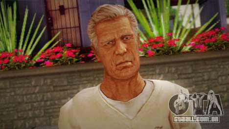 Frank Sunderland From Silent Hill: The Room para GTA San Andreas terceira tela