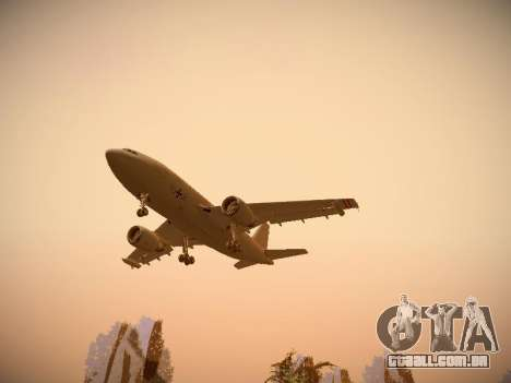 Airbus A310 MRTT Luftwaffe (German Air Force) para GTA San Andreas vista direita
