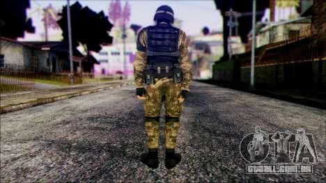 Soldier from Prototype 2 para GTA San Andreas segunda tela