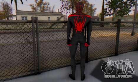 Skin The Amazing Spider Man 2 - New Ultimate para GTA San Andreas terceira tela