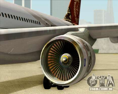 Airbus A330-200 Fiji Airways para vista lateral GTA San Andreas