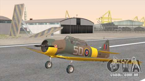 North American T-6 TEXAN FX215 para GTA San Andreas
