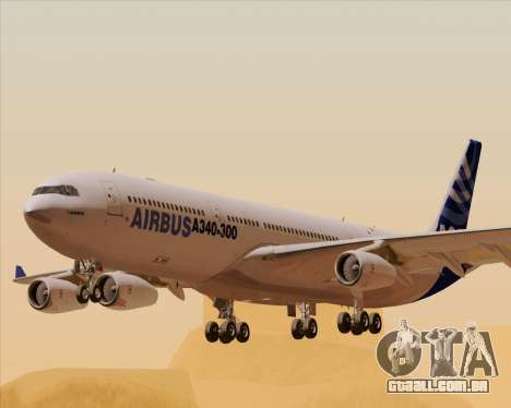 Airbus A340-311 House Colors para GTA San Andreas