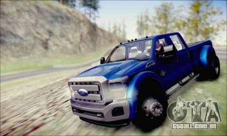 Ford F450 Super Duty 2013 HD para GTA San Andreas vista direita