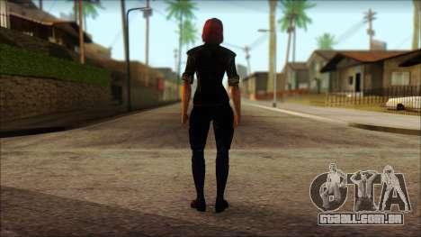 Mass Effect Anna Skin v6 para GTA San Andreas segunda tela