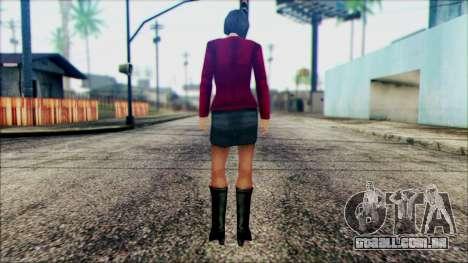 Manhunt Ped 10 para GTA San Andreas segunda tela