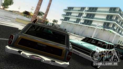 Ford Country Squire para GTA Vice City deixou vista