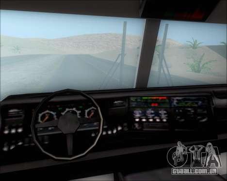 Pierce Arrow XT TFD Engine 2 para GTA San Andreas vista superior