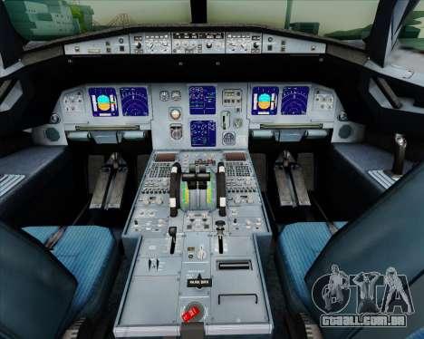 Airbus A321-200 British Airways para GTA San Andreas interior
