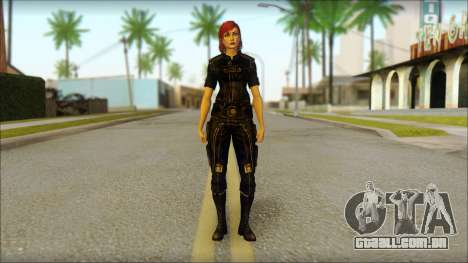 Mass Effect Anna Skin v7 para GTA San Andreas