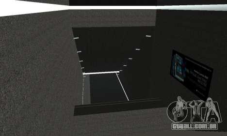 Uma nova estação de metrô de San Fierro para GTA San Andreas nono tela