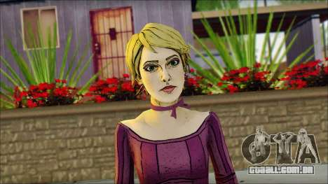 Vivian from Wolf Among Us para GTA San Andreas terceira tela