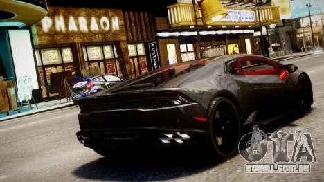Lamborghini Huracan LP610-4 SuperTrofeo para GTA 4 esquerda vista