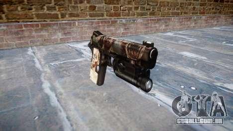 Arma Kimber 1911 Zumbis para GTA 4