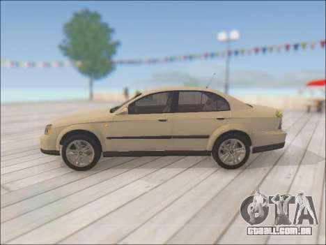 Chevrolet Evanda para GTA San Andreas esquerda vista