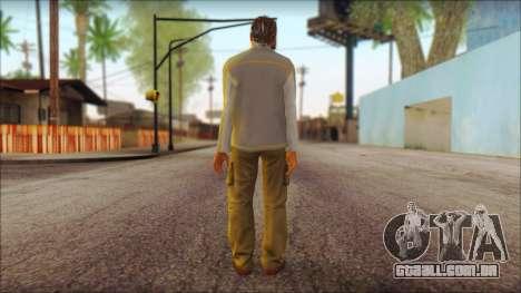 GTA 5 Ped 7 para GTA San Andreas segunda tela