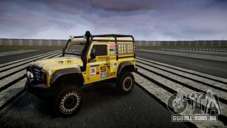 Land Rover Defender para GTA 4 esquerda vista