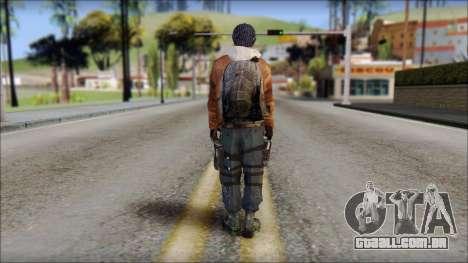 Division Skin para GTA San Andreas segunda tela