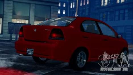 GTA 5 Asea para GTA 4 esquerda vista