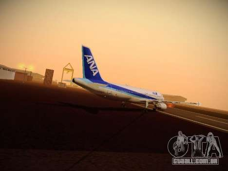 Airbus A320-211 All Nippon Airways para o motor de GTA San Andreas