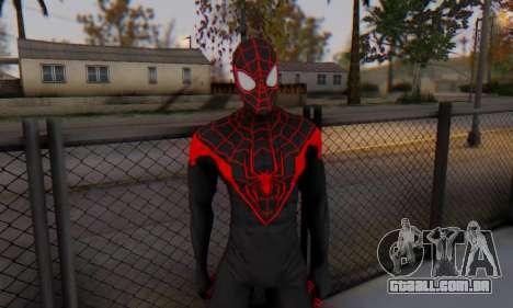 Skin The Amazing Spider Man 2 - New Ultimate para GTA San Andreas