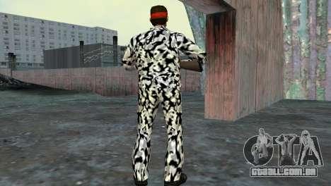 Camo Skin 05 para GTA Vice City por diante tela