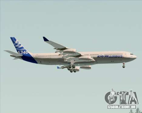 Airbus A340-311 House Colors para as rodas de GTA San Andreas