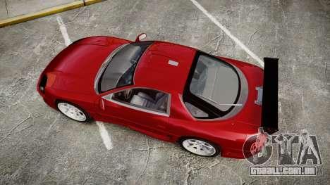Mitsubishi 3000GT Tuner para GTA 4 vista direita
