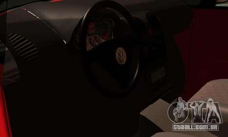 Volkswagen Caddy para GTA San Andreas vista traseira