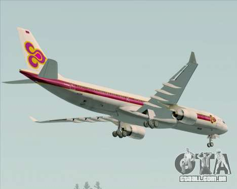 Airbus A330-300 Thai Airways International para o motor de GTA San Andreas