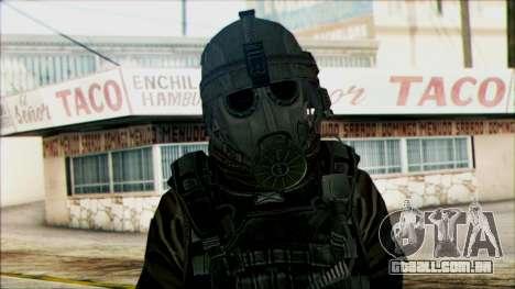 Soldados a bordo (CoD: MW2) v2 para GTA San Andreas terceira tela