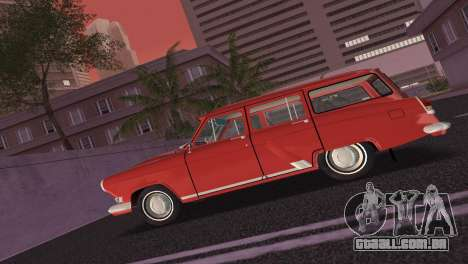 GAZ Volga 22 1965 para GTA Vice City vista traseira