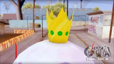 Kingjelly from Sponge Bob para GTA San Andreas terceira tela