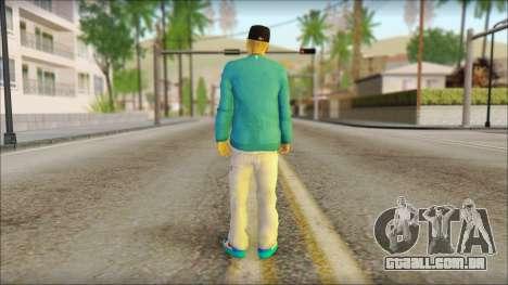 Superstar para GTA San Andreas segunda tela