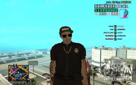 C-HUD GTA Vice City edited SampHack para GTA San Andreas