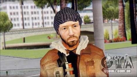 Division Skin para GTA San Andreas terceira tela