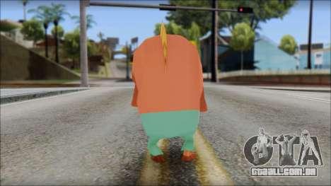 Boranfish from Sponge Bob para GTA San Andreas segunda tela