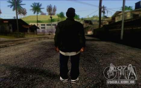 N.W.A Skin 3 para GTA San Andreas segunda tela