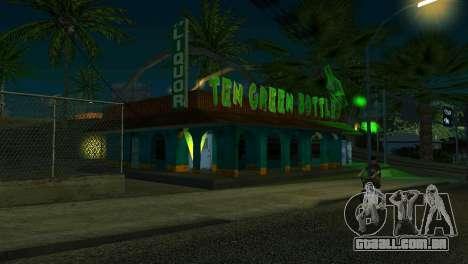 Novo bar em Ganton para GTA San Andreas por diante tela
