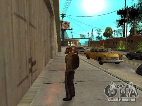 Mochila preta de Stalker para GTA San Andreas