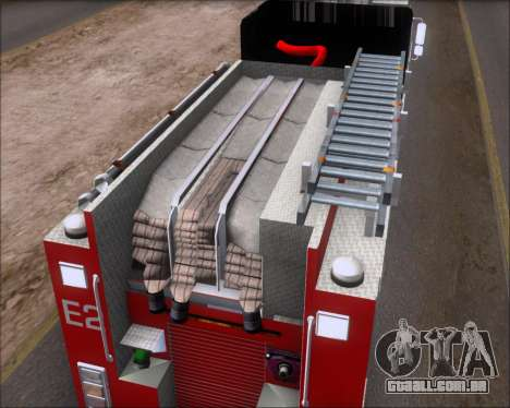 Pierce Arrow XT TFD Engine 2 para GTA San Andreas vista interior