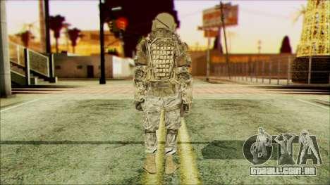 Ranger (CoD: MW2) v3 para GTA San Andreas segunda tela