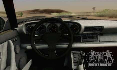RUF CTR Yellowbird 1987 para GTA San Andreas vista interior