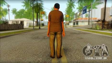 GTA 5 Ped 19 para GTA San Andreas segunda tela