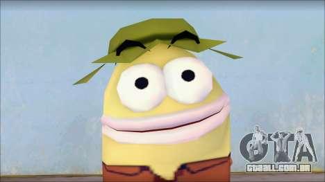 Campguy from Sponge Bob para GTA San Andreas terceira tela