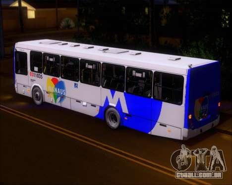 Marcopolo Torino 2007 Volksbus 17-230 EOD para GTA San Andreas vista interior