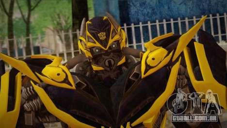 Bumblebee v2 para GTA San Andreas terceira tela